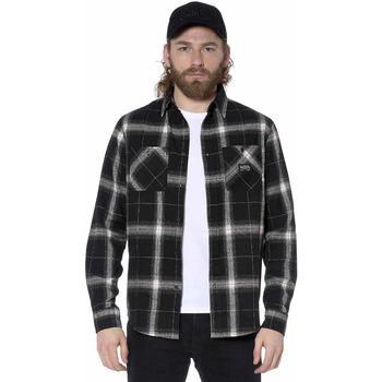 Vêtements Homme Chemises manches longues Von Dutch CHEMISE JAC G Noir