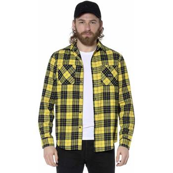 Vêtements Homme Chemises manches longues Von Dutch CHEMISE JAC Y Jaune