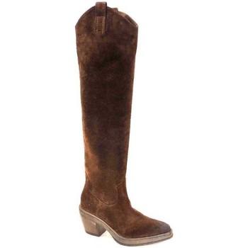 Chaussures Femme Bottes ville Elena Iachi E3087 Marron