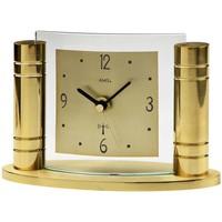 Vêtements de nuit Horloges Ams 5131, Quartz, Gold, Analogue, Modern Doré