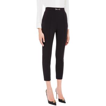 Vêtements Femme Pantalons Elisabetta Franchi PA38216E2 nero