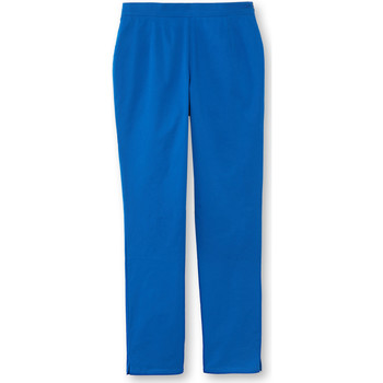 Vêtements Femme Pantalons fluides / Sarouels Balsamik Pantalon 7/8ème uni stature + d'1,60m bleuroi