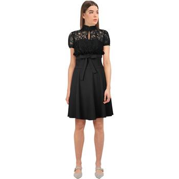 Vêtements Femme Robes courtes Chic Star 86390 Noir