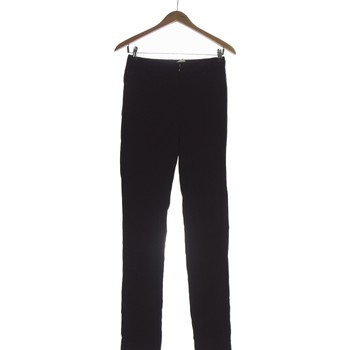 Vêtements Femme Pantalons Grain De Malice Pantalon Droit Femme  34 - T0 - Xs Noir