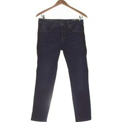 Vêtements Femme Pantalons Fornarina Pantalon Slim Femme  36 - T1 - S Bleu