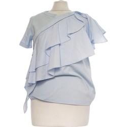 Vêtements Femme Tops / Blouses Cos Top Manches Courtes  34 - T0 - Xs Bleu