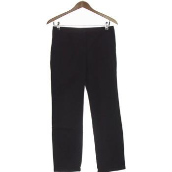 Vêtements Femme Pantalons Autre Ton Pantalon Droit Femme  36 - T1 - S Noir
