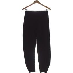 Vêtements Femme Pantalons Deca Pantalon Droit Femme  34 - T0 - Xs Noir