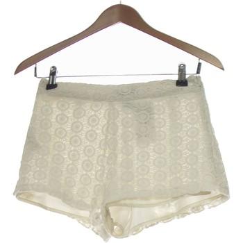 Vêtements Femme Shorts / Bermudas Forever 21 Short  34 - T0 - Xs Blanc