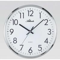 Maison & Déco Horloges Atlanta 4316, Quartz, White, Analogue, Modern Blanc