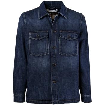 Vêtements Homme Chemises manches longues Department Five Broz Blue