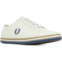 Chaussures Homme Baskets basses Fred Perry Kingston Leather blanc