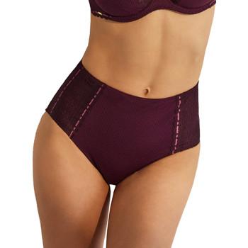 Sous-vêtements Femme Votre nom doit contenir un minimum de 2 caractères Selmark Slip taille haute Flavia Prune