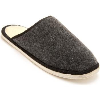 Chaussures Homme Chaussons Honcelac Mules mixtes semelle feutre fourrées lai unigris