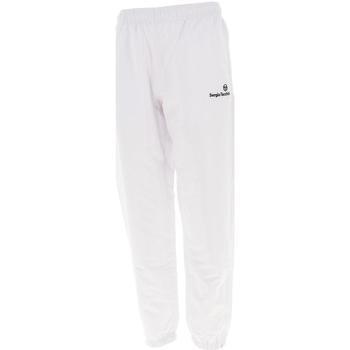 Vêtements Homme Pantalons de survêtement Sergio Tacchini Carson 021 wht slim pant Blanc