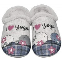 Chaussures Femme Chaussons Garzon 58518 Gris