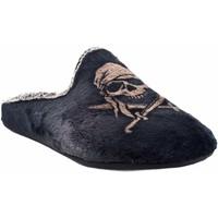 Chaussures Homme Chaussons Vulca Bicha Go home gentleman  1803 noir Gris