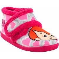 Chaussures Fille Chaussons Vulca Bicha Rentre à la maison fille  1087 fuxia Rose
