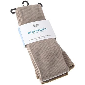 Sous-vêtements Femme Citrouille et Compagnie Bleuforet Collant chaud - Coton - Ultra opaque - Coton / Cachemire / Soie Beige