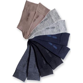 Accessoires Homme Chaussettes Honcelac Lot de 10 paires de mi-chaussettes assorties