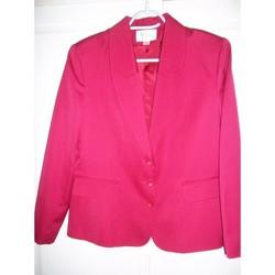 Vêtements Femme Vestes / Blazers Maison 123 Veste blazer framboise-Maison 123-T44 Rose