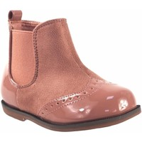 Chaussures Fille Boots Bubble Bobble Butin fille  a1775 rose Rose