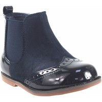 Chaussures Fille Boots Bubble Bobble Butin fille  a1775 bleu Bleu