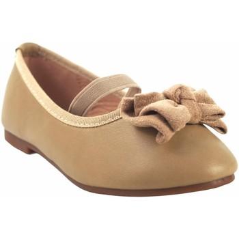 Chaussures Fille Ballerines / babies Bubble Bobble Chaussure fille  a2702 beige Marron