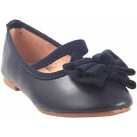Chaussures Fille Ballerines / babies Bubble Bobble Chaussure fille  a2702 bleu Bleu