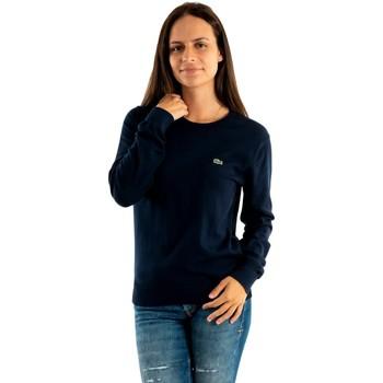 Vêtements Femme Sweats Lacoste af7005 166 marine bleu
