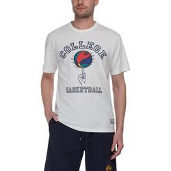 Vêtements Homme T-shirts manches courtes Franklin & Marshall T-shirt Franklin & Marshall Classique gris