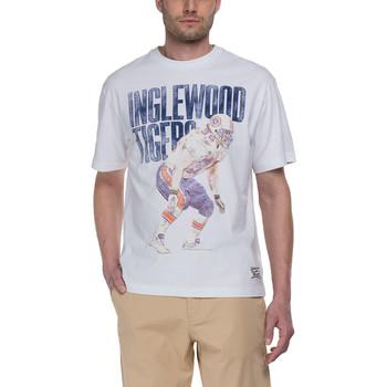 Vêtements Homme T-shirts manches courtes Franklin & Marshall T-shirt Franklin & Marshall Classique blanc
