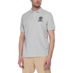 Vêtements Homme Polos manches courtes Franklin & Marshall Polo Franklin & Marshall Classique gris chiné
