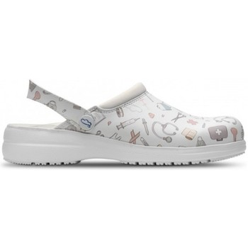 Chaussures Sabots Feliz Caminar SABOTS SANITAIRES UNISEXE MYCROM Blanc