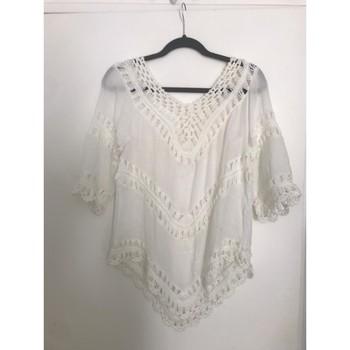 Vêtements Femme Tuniques Sans marque Tunique blanche Blanc