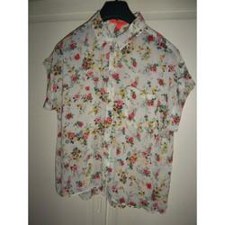 Vêtements Femme Tops / Blouses Mango Top manches courtes-Mango-Taille 42/44 Multicolore