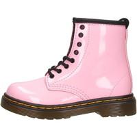 Chaussures Garçon Boots Dr Martens - Anfibio rosa 1460 T ROSA