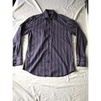 Vêtements Homme Chemises manches longues Jules Chemise Jules Violet
