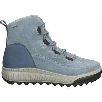Chaussures Femme Baskets montantes Legero Bottines Blau