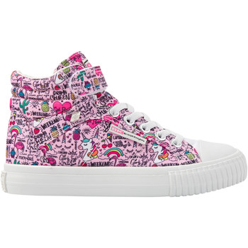 Chaussures Femme Baskets montantes British Knights DEE FILLES BASKETS MONTANTE roselicorne