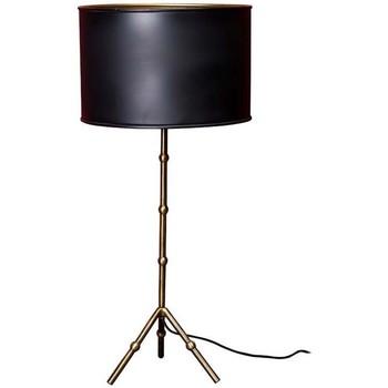 Maison & Déco Lampes à poser Chehoma Lampe noir dorée Berlin 60x22cm Laiton