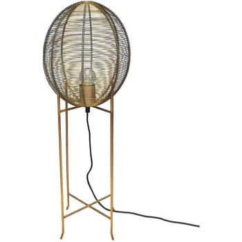 Maison & Déco Lampes à poser Chehoma Lampe haute métal doré 15x25x65cm Doré