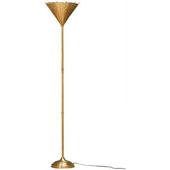 Maison & Déco Lampadaires Chehoma Lampadaire métal doré Osiris 28x150cm Doré
