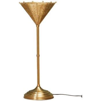 Maison & Déco Lampes à poser Chehoma Lampe métal doré Osiris 22x65cm Doré