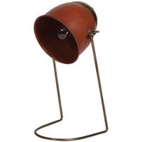 Maison & Déco Lampes à poser Chehoma Lampe bureau métal doré 36x19x16cm Doré