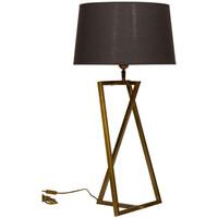 Maison & Déco Lampes à poser Chehoma Lampe dorée Bellery 21x25x60cm Doré