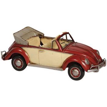 Maison & Déco Statuettes et figurines Chehoma Décapotable vintage miniature rouge 34x13x12cm Rouge