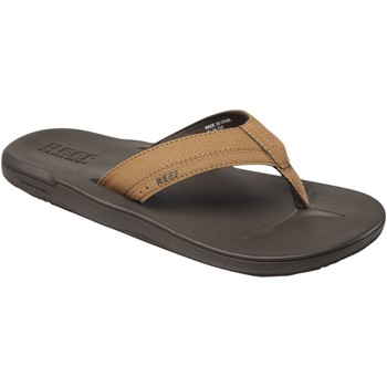 Chaussures Homme Tongs Reef Contoured Cushion Braun