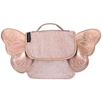 Sacs Enfant Sacs à dos Caramel&Cie Sac papillon  Ref 53793 Cuivre paille Rose
