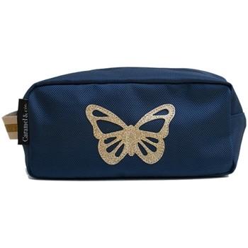 Sacs Enfant Trousses Caramel&Cie Trousse scolaire  Ref 53796 bleu 23 x 12 x 11 Bleu